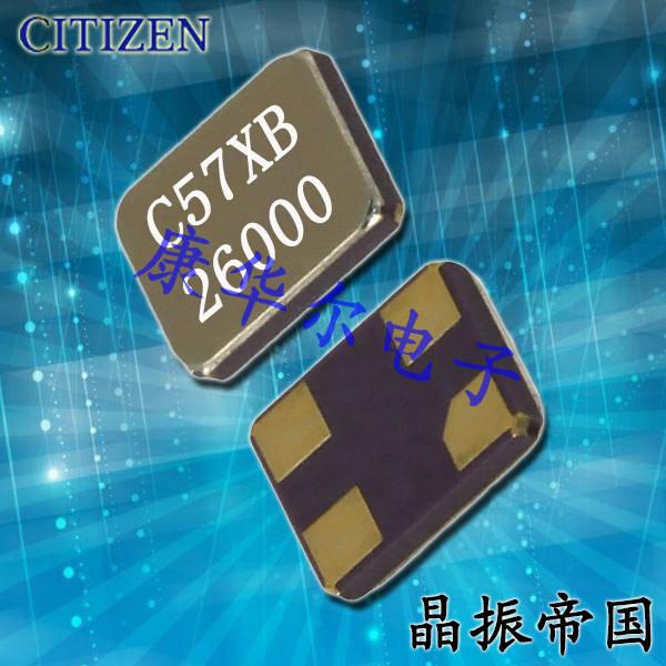 CITIZEN晶振,贴片晶振,CS325S晶振,CS325S24000000ABJT晶振