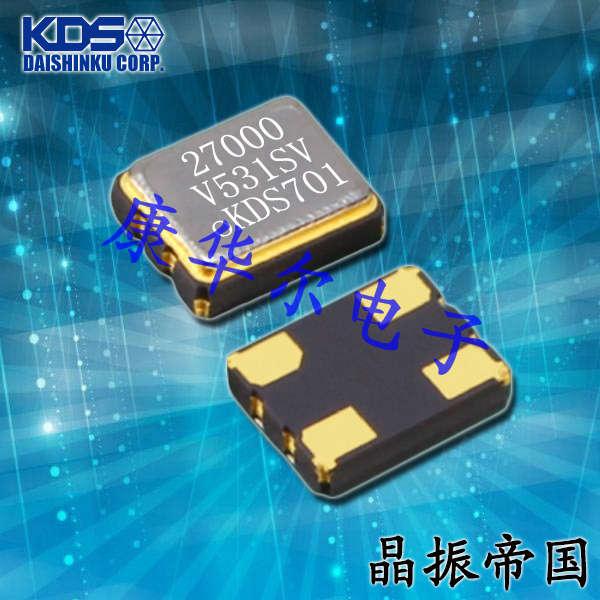 KDS晶振,压控晶振,DSV531SV晶振,1XVC059941VB晶振