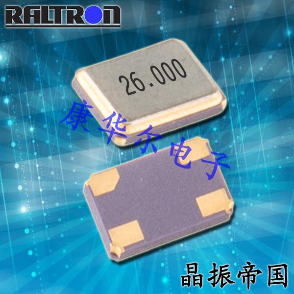 Raltron晶振,石英晶体,RH100晶振
