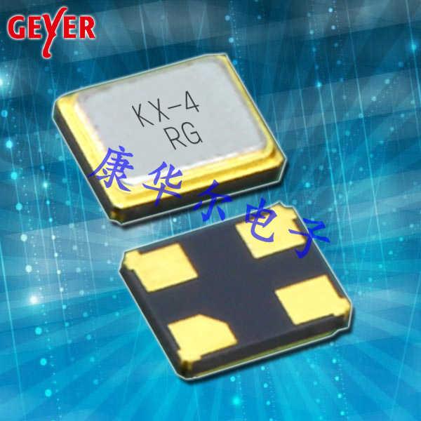 GEYER晶振,小型SMD晶振,KX-4进口晶振