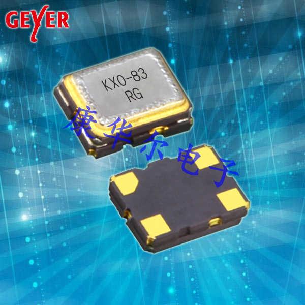 GEYER晶振,进口贴片晶振,KXO-83石英晶振