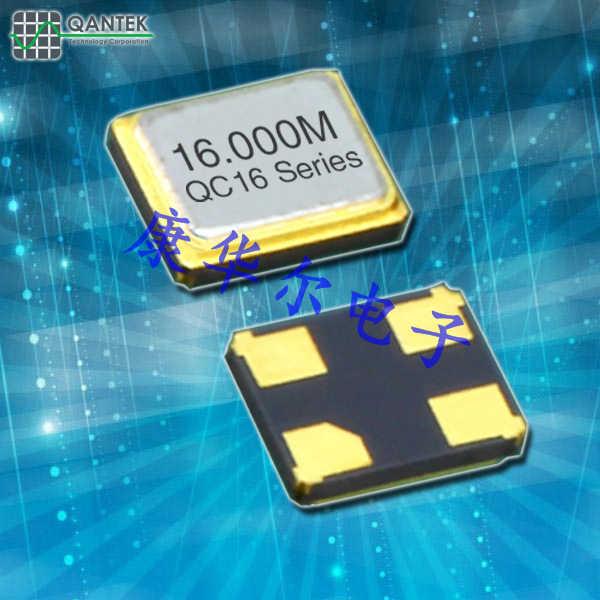 QANTEK晶振,高质量石英晶振,QC16晶体谐振器