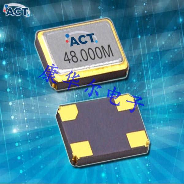 ACT晶振,智能家居晶振,2205-SMX-4晶体