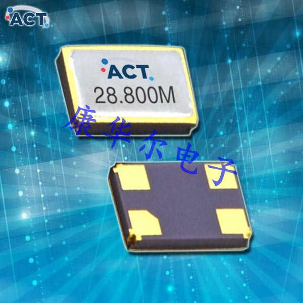 ACT晶振,无源石英晶振,531-SMX-4晶体