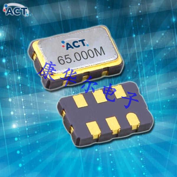 ACT晶振,VCXO石英晶体振荡器,FTV53压控晶振