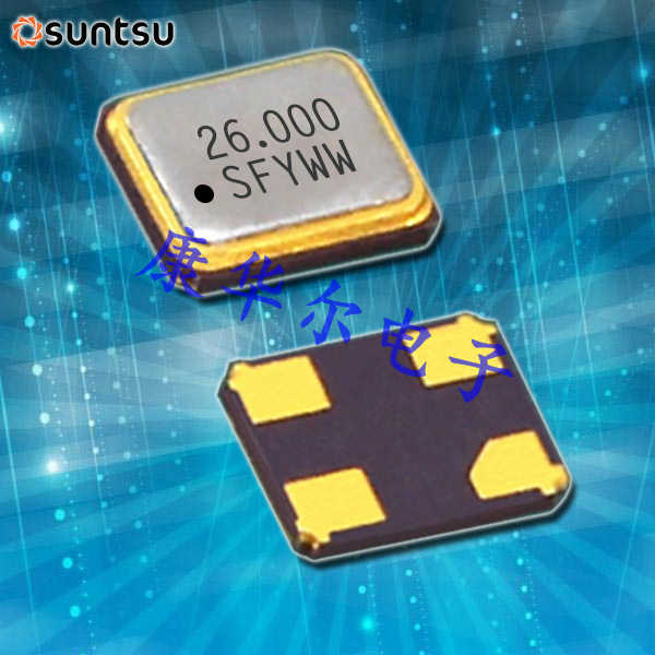 SUNTSU晶振,TCXO晶体振荡器,STC22K晶振