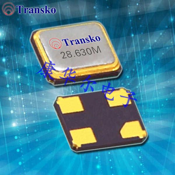 Transko晶振,压电晶振,CS16石英晶体谐振器