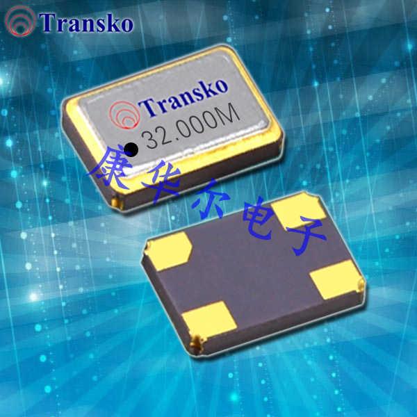 Transko晶振,有源压电晶振,TSM21进口贴片晶振