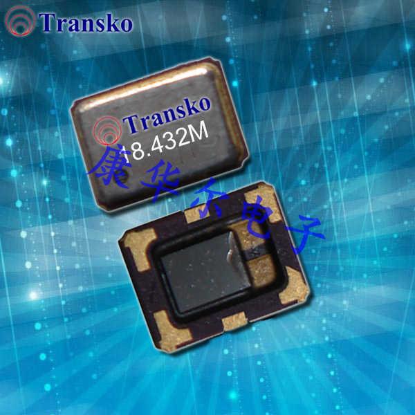 Transko晶振,进口VC-TCXO晶振,TX-U温补振荡器