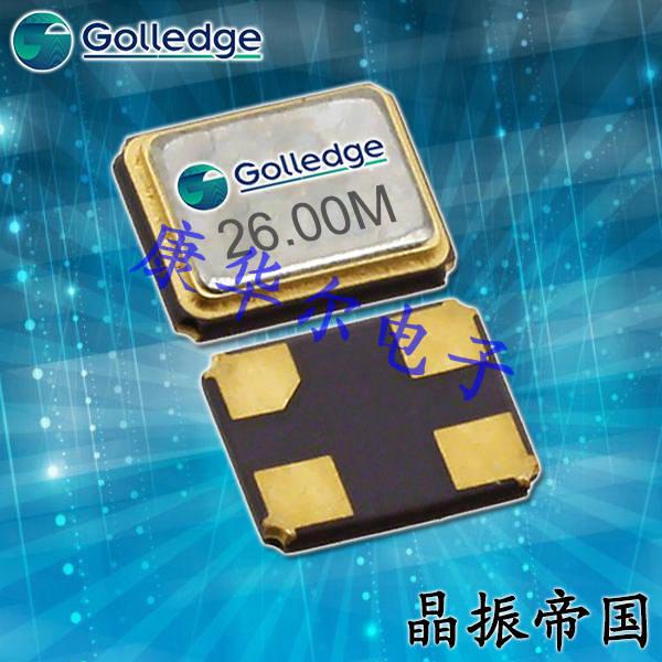 Golledge晶振,低功耗晶振,GRX-530晶体