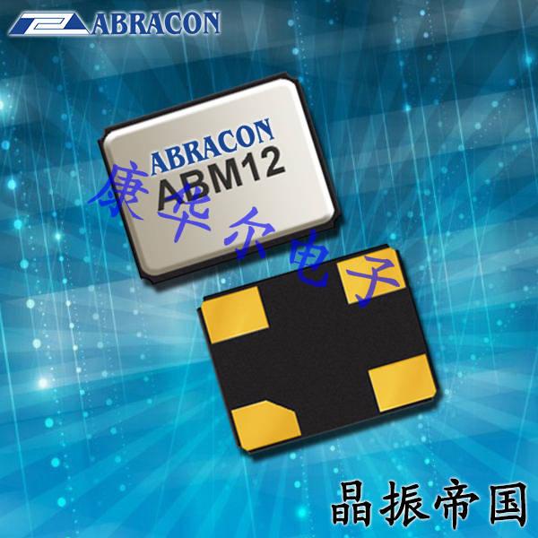 Abracon晶振,石英贴片晶振,ABM12晶体