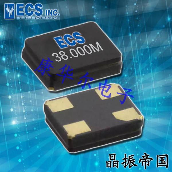 ECScrystal晶振,石英晶体谐振器,ECX-53B压电晶振