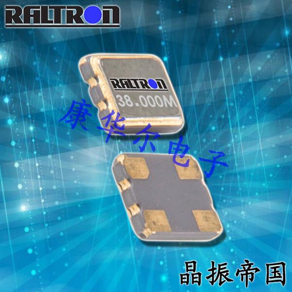Raltron晶振,进口石英晶体振荡器,CO2520普通有源晶振