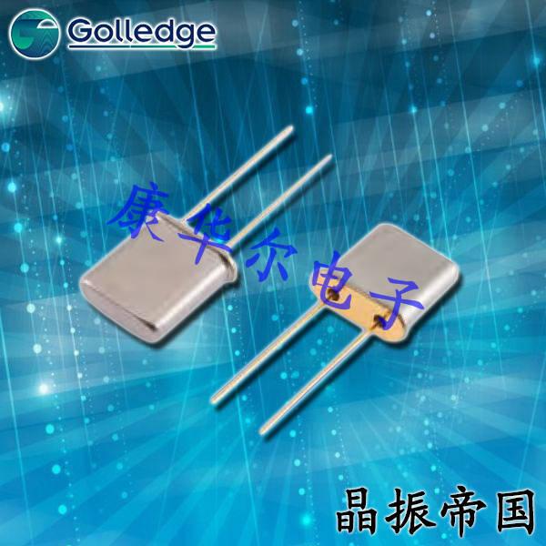 Golledge晶振,金属面石英晶振,UM-1插件晶体