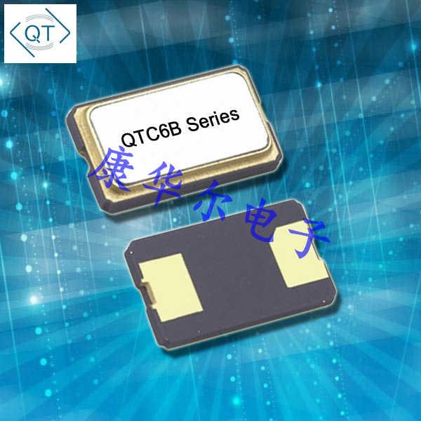 QuartzChnik晶振,贴片石英晶振,QTC6B压电晶振