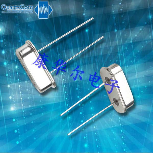 QuartzCom晶振,插件石英晶振,HC-49S晶体
