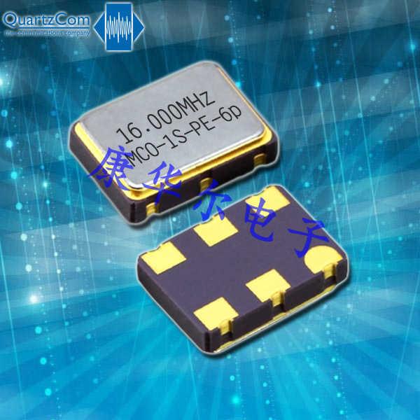 QuartzCom晶振,进口石英晶体振荡器,MCO-1S-DS-6p晶振