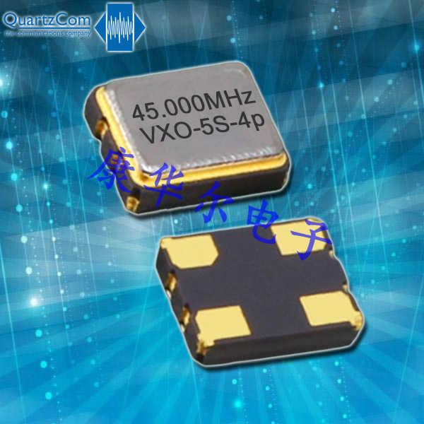 QuartzCom晶振,有源晶体振荡器,VXO-5S-4p晶振