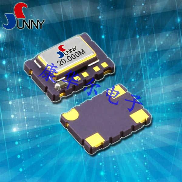 SUNNY晶振,石英贴片晶振,STG压控温补振荡器