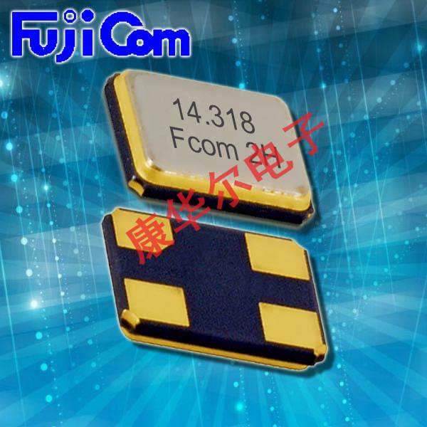 富士晶振,石英贴片晶振,FSX-6M石英晶体谐振器