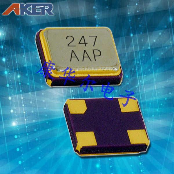 AKER晶振,耐高温晶振,CXAF-211石英晶体