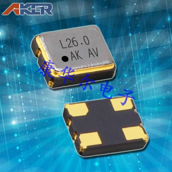 AKER晶振,TCXO晶体振荡器,TXON-321晶振