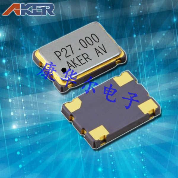 AKER晶振,高精密贴片晶振,SMP-751振荡器