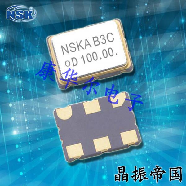 NSK晶振,VCXO石英晶体振荡器,NAVH-6晶振